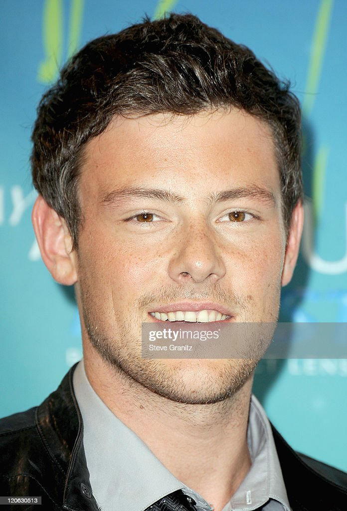 Actor <a gi-track='captionPersonalityLinkClicked' href=/galleries/search?phrase=Cory+Monteith&family=editorial&specificpeople=4491048 ng-click='$event.stopPropagation()'>Cory Monteith</a> poses in the press room at the 2011 Teen Choice Awards held at the Gibson Amphitheatre on August 7, 2011 in Universal City, California.