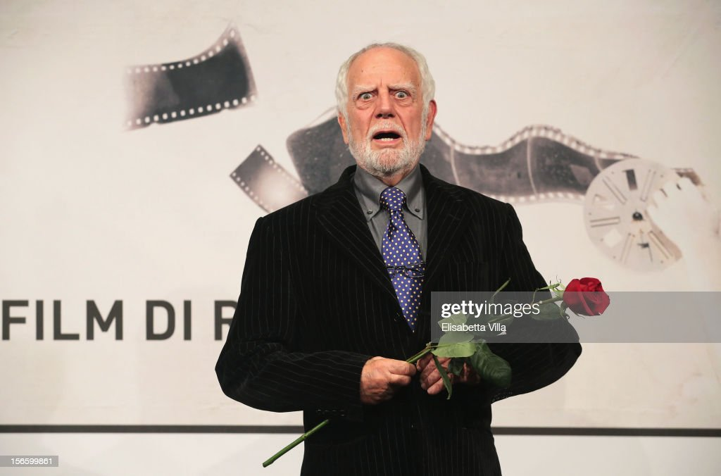 Actor Cosimo Cinieri poses with his Special Mention during the Award Winners Photocall during the 7th Rome Film Festival at Auditorium Parco Della Musica on November 17, 2012 in Rome, Italy.