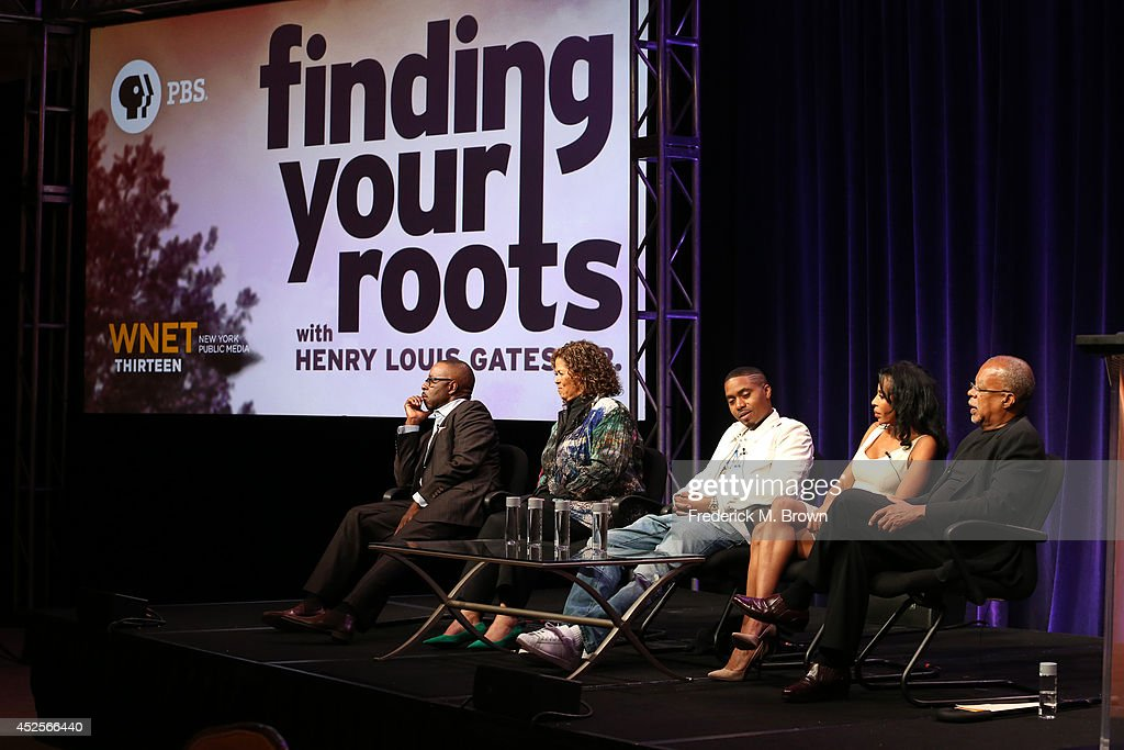 Actor Courtney B Vance Actress/Playwright Anna Deavere Smith Recording artist Nas Actress Khandi Alexander and Executive Producer Writer and...