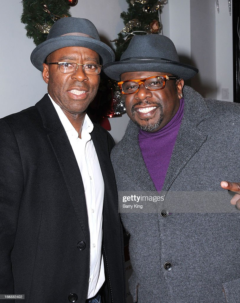 Actor <a gi-track='captionPersonalityLinkClicked' href=/galleries/search?phrase=Courtney+B.+Vance&family=editorial&specificpeople=224059 ng-click='$event.stopPropagation()'>Courtney B. Vance</a> and comedian <a gi-track='captionPersonalityLinkClicked' href=/galleries/search?phrase=Cedric+the+Entertainer&family=editorial&specificpeople=210583 ng-click='$event.stopPropagation()'>Cedric the Entertainer</a> attend the WHO CED In-Store Holiday Launch Party at Brigade LA on December 12, 2012 in Los Angeles, California.