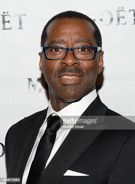 Actor Courtney B Vance arrives at Moet Chandon Celebrates the 8th Annual SBIFF Kirk Douglas Award For Excellence In Film Honoring Forest Whitaker at...