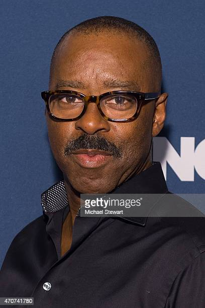 Actor Courtney B Vance attends the 2015 FX Bowling Party at Lucky Strike on April 22 2015 in New York City