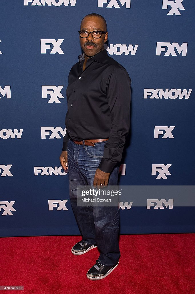 Actor Courtney B Vance attends the 2015 FX Bowling Party at Lucky Strike on April 22, 2015 in New York City.