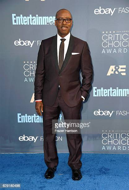 Actor Courtney B Vance attends The 22nd Annual Critics' Choice Awards at Barker Hangar on December 11 2016 in Santa Monica California