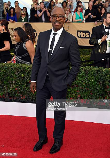 Actor Courtney B Vance attends The 23rd Annual Screen Actors Guild Awards at The Shrine Auditorium on January 29 2017 in Los Angeles California...