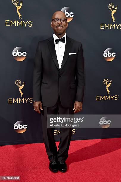 Actor Courtney B Vance attends the 68th Annual Primetime Emmy Awards at Microsoft Theater on September 18 2016 in Los Angeles California