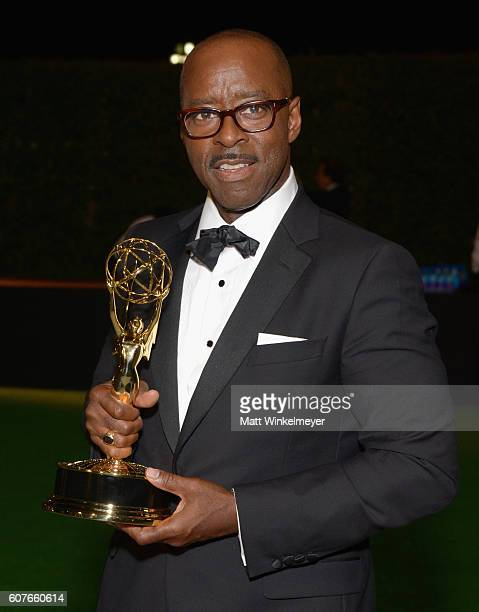 Actor Courtney B Vance attends the 68th Annual Primetime Emmy Awards Governors Ball at Microsoft Theater on September 18 2016 in Los Angeles...