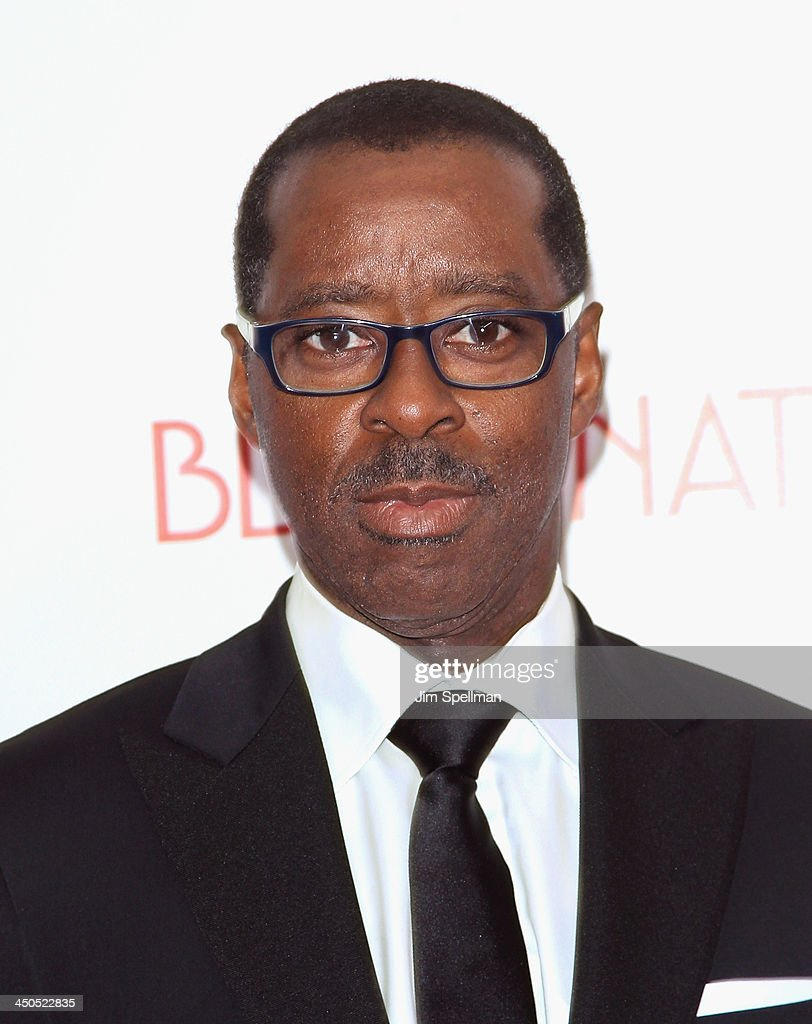 Actor <a gi-track='captionPersonalityLinkClicked' href=/galleries/search?phrase=Courtney+B.+Vance&family=editorial&specificpeople=224059 ng-click='$event.stopPropagation()'>Courtney B. Vance</a> attends the 'Black Nativity' premiere at The Apollo Theater on November 18, 2013 in New York City.