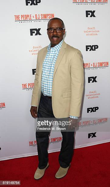 Actor Courtney B Vance attends the FX's For Your Consideration Event for 'The People v OJ Simpson American Crime Story' at The Theatre at Ace Hotel...