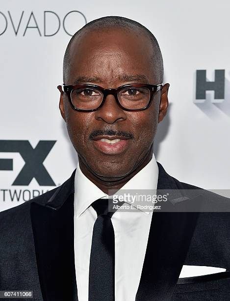 Actor Courtney B Vance attends the Vanity and FX Annual Primetime Emmy Nominations Party at Craft Restaurant on September 17 2016 in Beverly Hills...