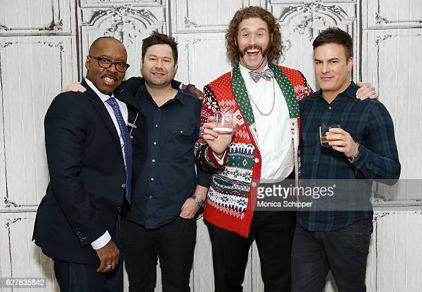 Actor Courtney B Vance director Josh Gordon actor T J Miller and director Will Speck attend Build Presents TJ Miller Courtney B Vance And Directors...