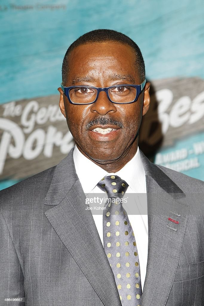 Actor Courtney Vance attends the Opening Night Of The Gershwin's 'Porgy And Bess' At The Ahmanson Theatre at Ahmanson Theatre on April 23, 2014 in Los Angeles, California.