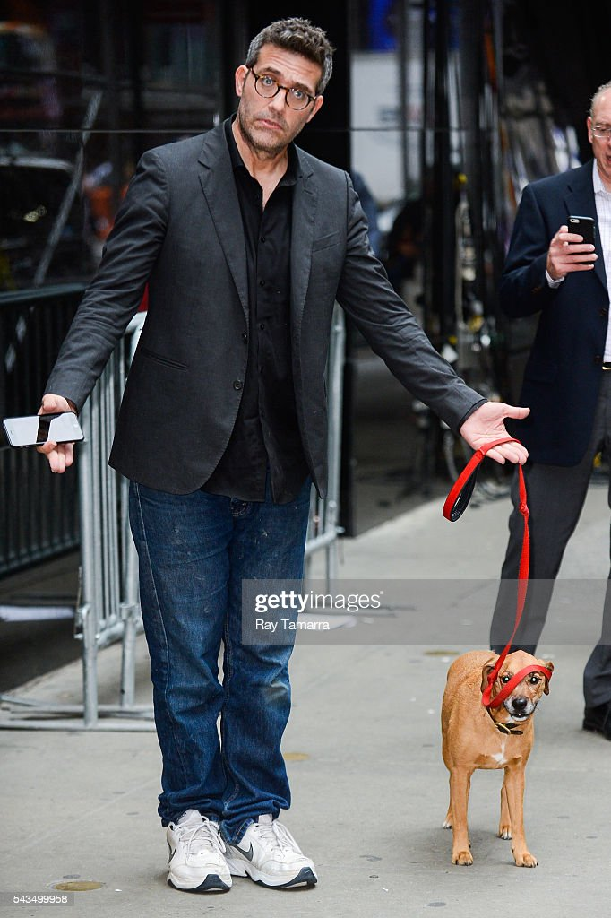 Actor Craig Bierko leaves the 'Good Morning America' taping at the ABC Times Square Studios on June 28 2016 in New York City
