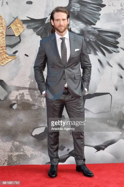 Actor Craig McGinlay attends the European film premiere of King Arthur Legend Of The Sword in London England on May 10 2017
