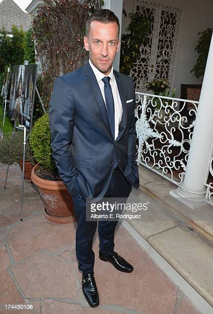 Actor Craig Parker attends The Brittish Consulate'a toast of the US launch of the Starz original series 'The White Queen' on July 25 2013 in Los...