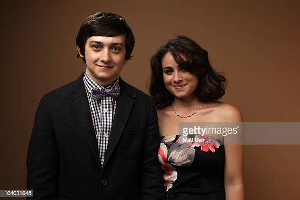 Actor Craig Roberts and actress Yasmin Paige from 'Submarine' poses for a portrait during the 2010 Toronto International Film Festival in Guess...