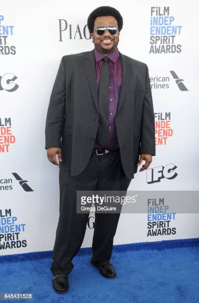 Actor Craig Robinson arrives at the 2017 Film Independent Spirit Awards on February 25 2017 in Santa Monica California