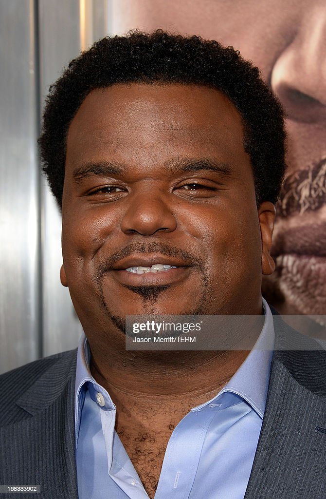 Actor Craig Robinson arrives at the premiere of 'Peeples' presented by Lionsgate Film and Tyler Perry at ArcLight Hollywood on May 8, 2013 in Hollywood, California.