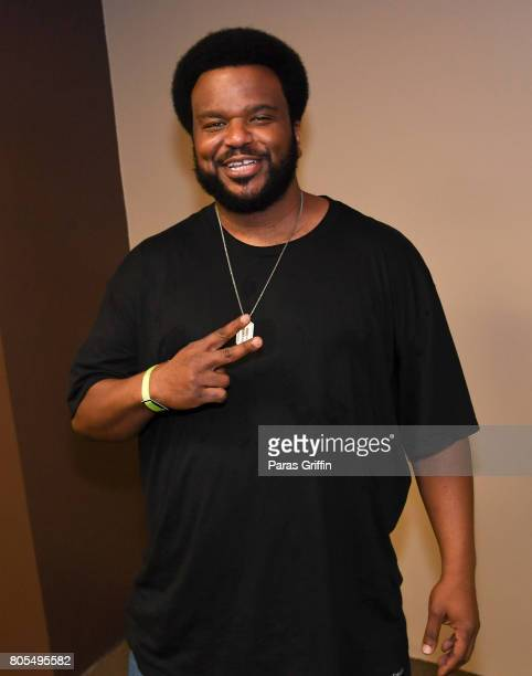 Actor Craig Robinson at 2017 Essence Festival at MercedesBenz Superdome on July 1 2017 in New Orleans Louisiana