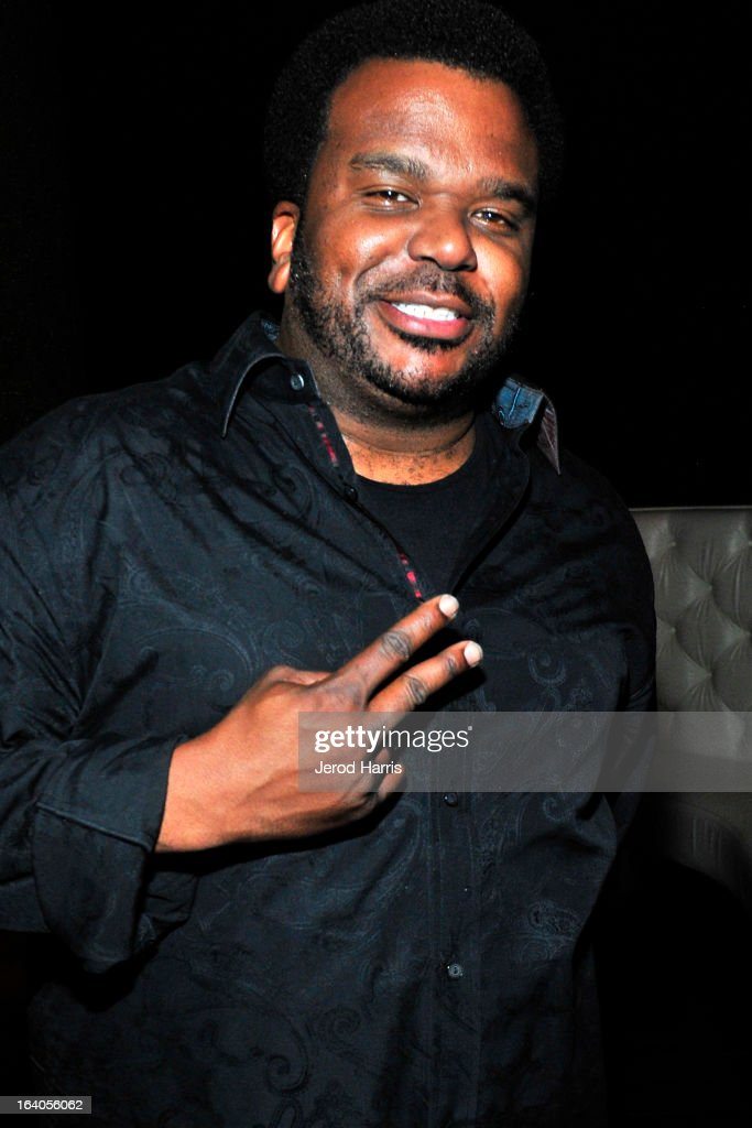Actor Craig Robinson attends 'Olympus Has Fallen' Premiere Reception presented by Grey Goose Vodka at Lure on March 18, 2013 in Hollywood, California.