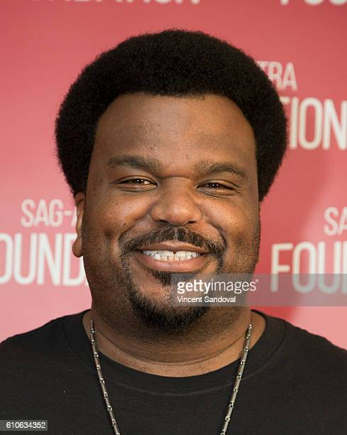 Actor Craig Robinson attends SAGAFTRA Foundation Conversations with 'Morris From America' at SAGAFTRA Foundation on September 26 2016 in Los Angeles...