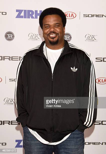 Actor Craig Robinson attends the Kia Luxury Lounge presented by ZIRH at the Scottsdale Center for Performing Arts on January 31 2015 in Scottsdale...