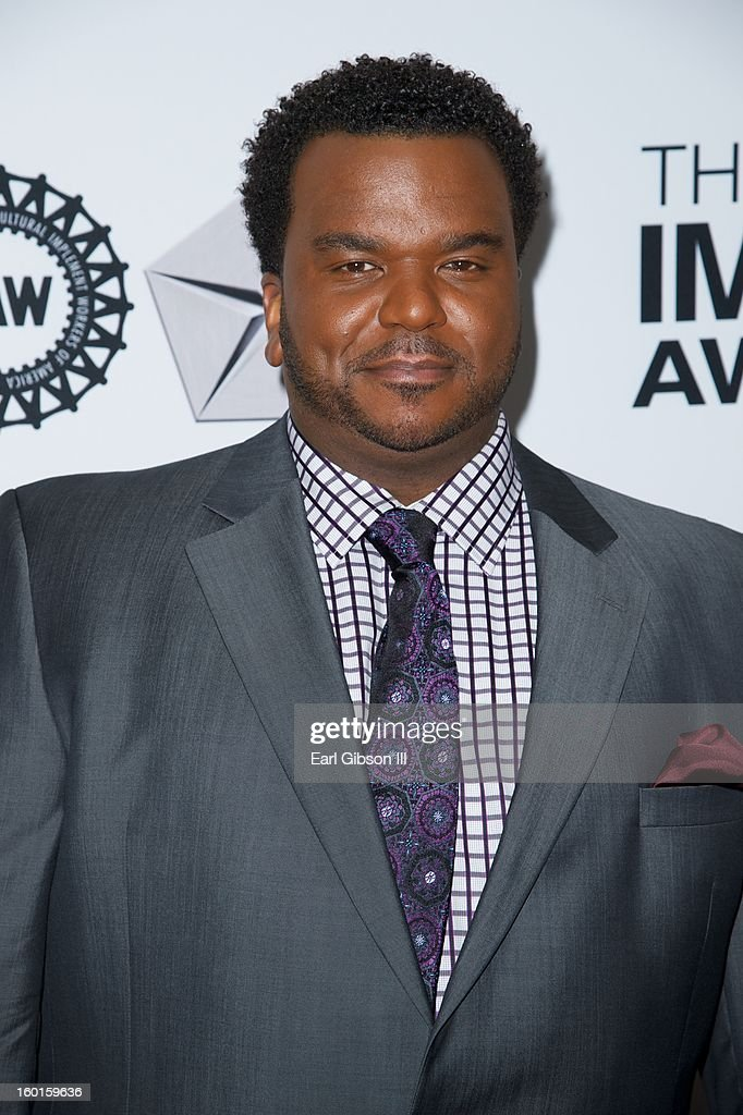 Actor Craig Robinson attends the NAACP Image Awards Nominee's Luncheon at Montage Beverly Hills on January 26, 2013 in Beverly Hills, California.