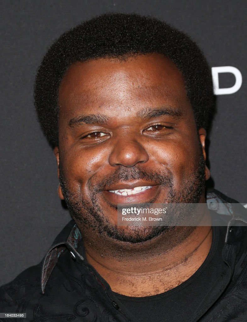 Actor Craig Robinson attends the Premiere of FilmDistrict's 'Olympus Has Fallen' at the ArcLight Cinemas Cinerama Dome on March 18, 2013 in Hollywood, California.