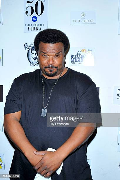 Actor Craig Robinson attends the The Official 'Morris From America' After Party at Bar 53 at Rock Reilly's and 50 Bleu Lounge on January 22 2016 in...