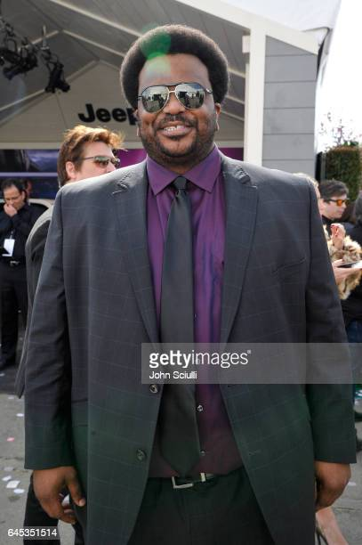 Actor Craig Robinson visits the Jeep tent at the 2017 Film Independent Spirit Awards sponsored by Jeep at Santa Monica Pier on February 25 2017 in...