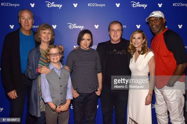 Actor Craig T Nelson producer Nicole Paradis Grindle actors Huck Milner and Sarah Vowell director Brad Bird actors Holly Hunter and Samuel L Jackson...
