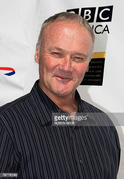 US actor Creed Bratton arrives for a preEmmy Awards tea party hosted by the British Academy of Film Television Arts/Los Angeles and the Academy of...
