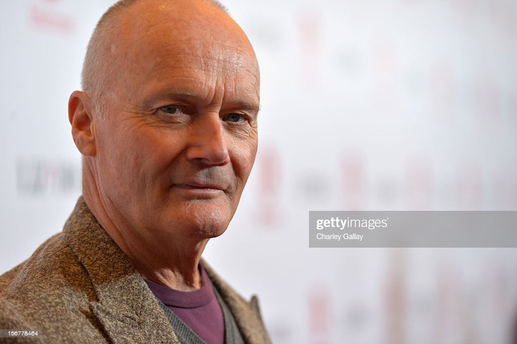 Actor <a gi-track='captionPersonalityLinkClicked' href=/galleries/search?phrase=Creed+Bratton&family=editorial&specificpeople=1010104 ng-click='$event.stopPropagation()'>Creed Bratton</a> attends a private dinner for the Lifetime premier of 'Liz & Dick' at Beverly Hills Hotel on November 20, 2012 in Beverly Hills, California.