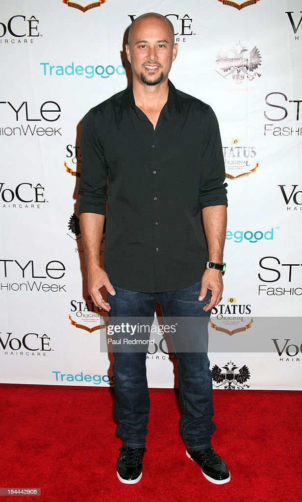 Actor Cris Judd attends Alexis Monsanto Spring/Summer Collection 2013 Fashion Show at Vibiana on October 19, 2012 in Los Angeles, California.