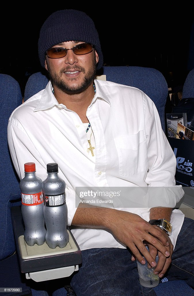 Actor Cris Judd attends the Enyce/Lady Enyce Spring 2005 show at the Mercedes-Benz Fashion Week at Smashbox Studios in Culver City, California.