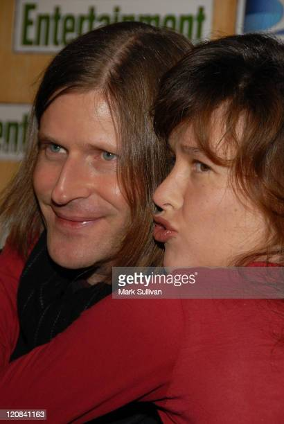 Actor Crispin Glover and actress Paz De La Huerta attends Entertainment Weekly's Sundance opening weekend party sponsored by DIRECTV at the Legacy...