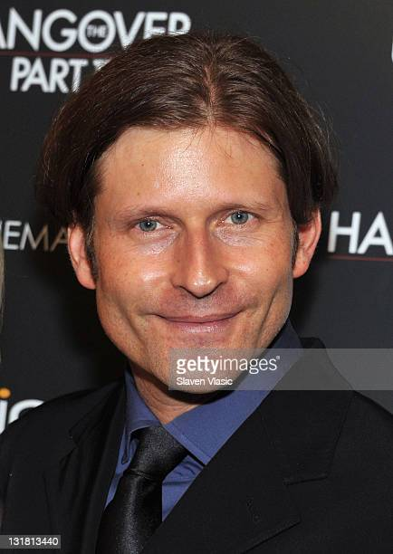 Actor Crispin Glover attends the Cinema Society Bing screening of 'The Hangover Part II' at Landmark Sunshine Cinema on May 23 2011 in New York City