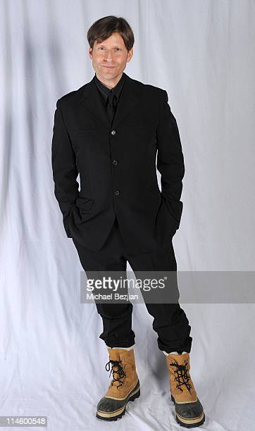 Actor Crispin Glover poses at the House of Hype Portrait Studio Day 1 on January 22 2010 in Park City Utah