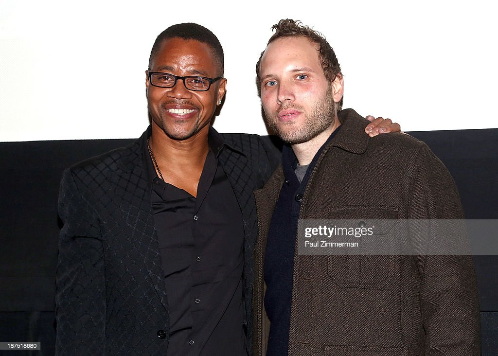 Actor Cuba Gooding Jr and director Jake Goldberger attend the 10th annual Big Apple Film Festival at Tribeca Cinemas on November 9 2013 in New York...