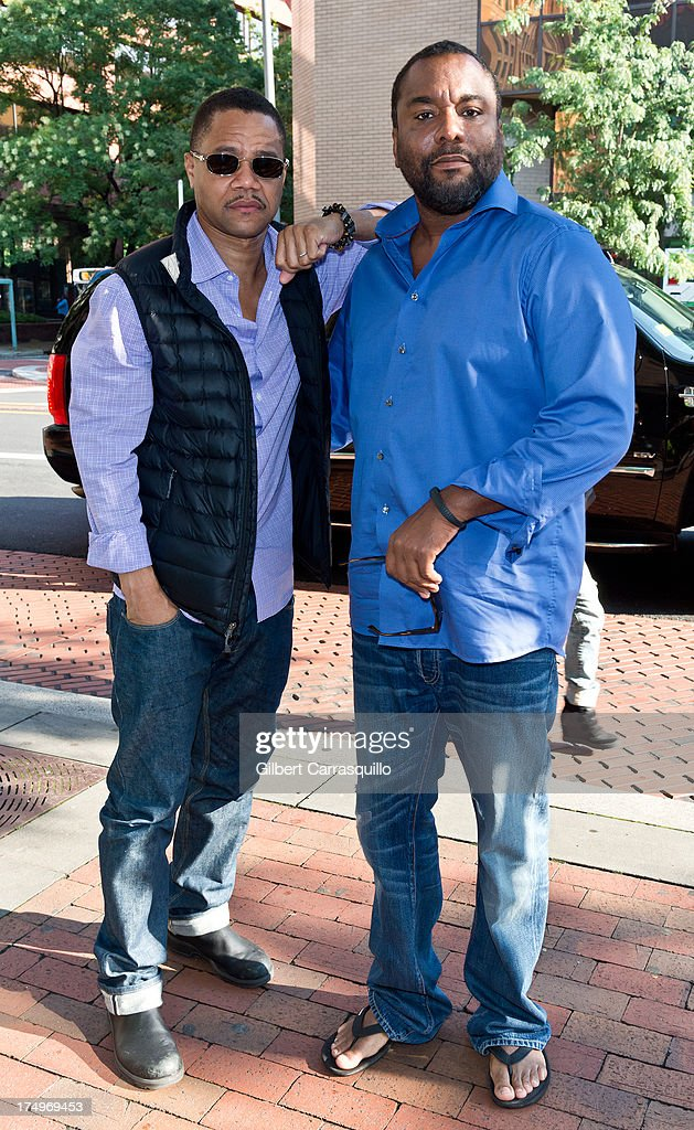 Actor Cuba Gooding, Jr. and director <a gi-track='captionPersonalityLinkClicked' href=/galleries/search?phrase=Lee+Daniels&family=editorial&specificpeople=209078 ng-click='$event.stopPropagation()'>Lee Daniels</a> visit Fox 29's 'Good Day' at FOX 29 Studio to promote 'The Butler' on July 29, 2013 in Philadelphia, Pennsylvania.