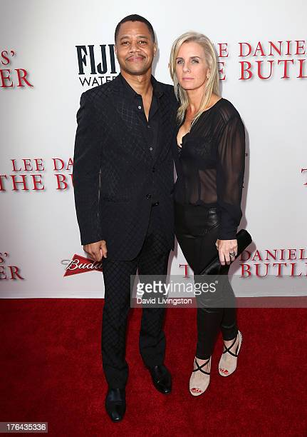 Actor Cuba Gooding Jr and wife Sara Kapfer attend the premiere of the Weinstein Company's 'Lee Daniels' The Butler' at Regal Cinemas LA Live on...