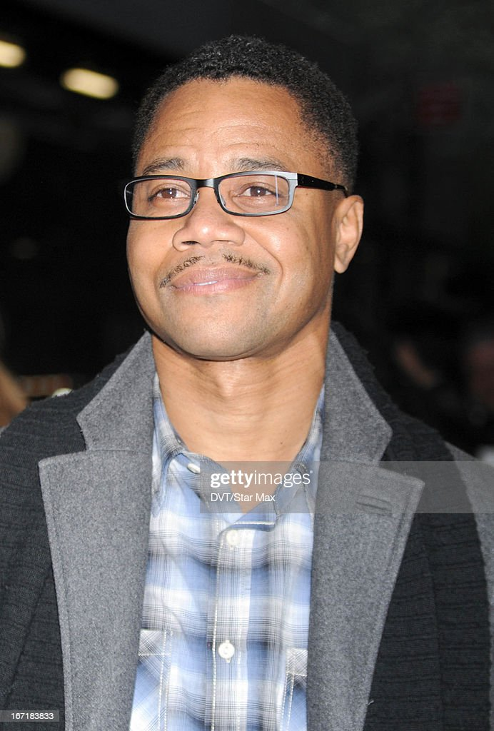 Actor Cuba Gooding, Jr. as seen on April 21, 2013 in New York City.