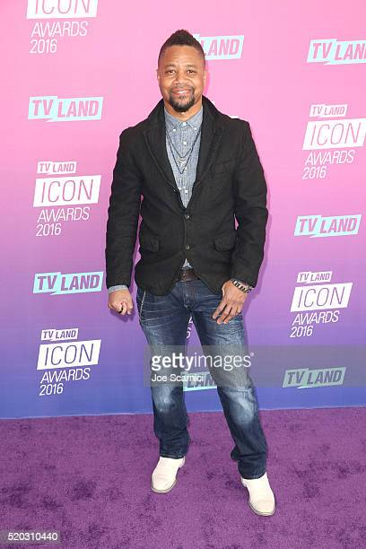 Actor Cuba Gooding Jr attends 2016 TV Land Icon Awards at The Barker Hanger on April 10 2016 in Santa Monica California