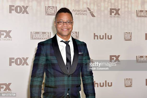 Actor Cuba Gooding Jr attends FOX and FX's 2017 Golden Globe Awards after party at The Beverly Hilton Hotel on January 8 2017 in Beverly Hills...