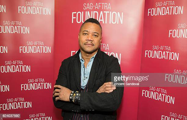 Actor Cuba Gooding Jr attends SAGAFTRA Foundation's Conversations with 'The People V OJ Simpson American Crime Story' at SAG Foundation Actors Center...