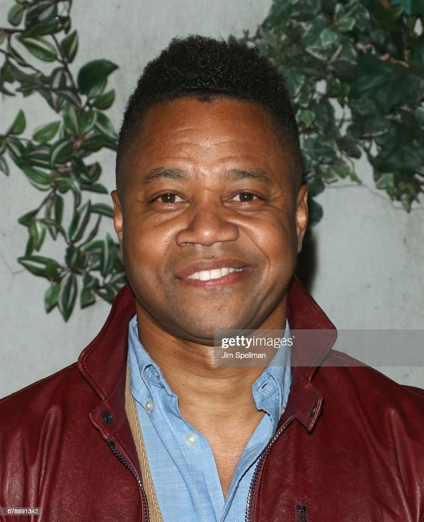 Actor Cuba Gooding Jr. attends Sony Pictures Classics' screening after party for 'Paris Can Wait' hosted by The Cinema Society & BNY Mellon at Laduree Soho on May 4, 2017 in New York City.