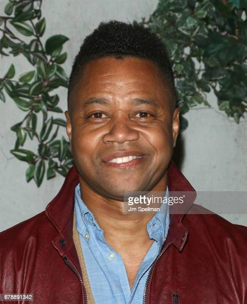 Actor Cuba Gooding Jr attends Sony Pictures Classics' screening after party for 'Paris Can Wait' hosted by The Cinema Society BNY Mellon at Laduree...