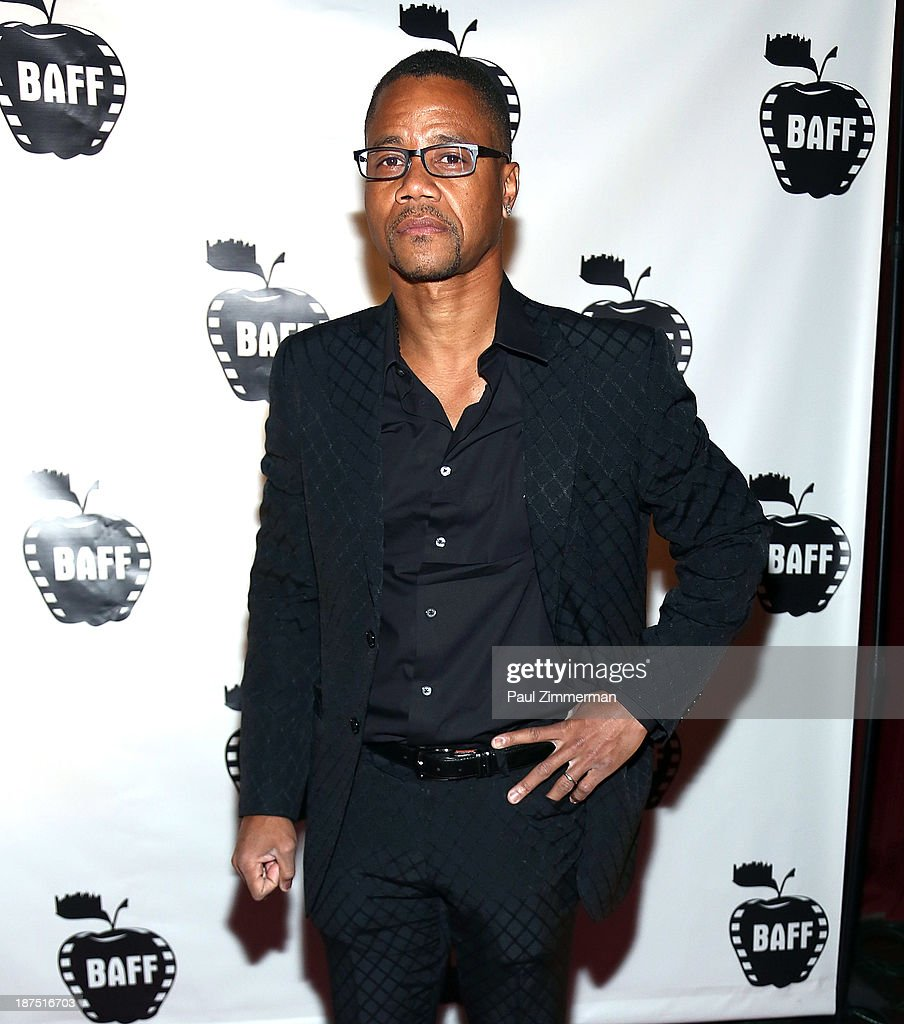 Actor Cuba Gooding Jr attends the 10th annual Big Apple Film Festival at Tribeca Cinemas on November 9 2013 in New York City