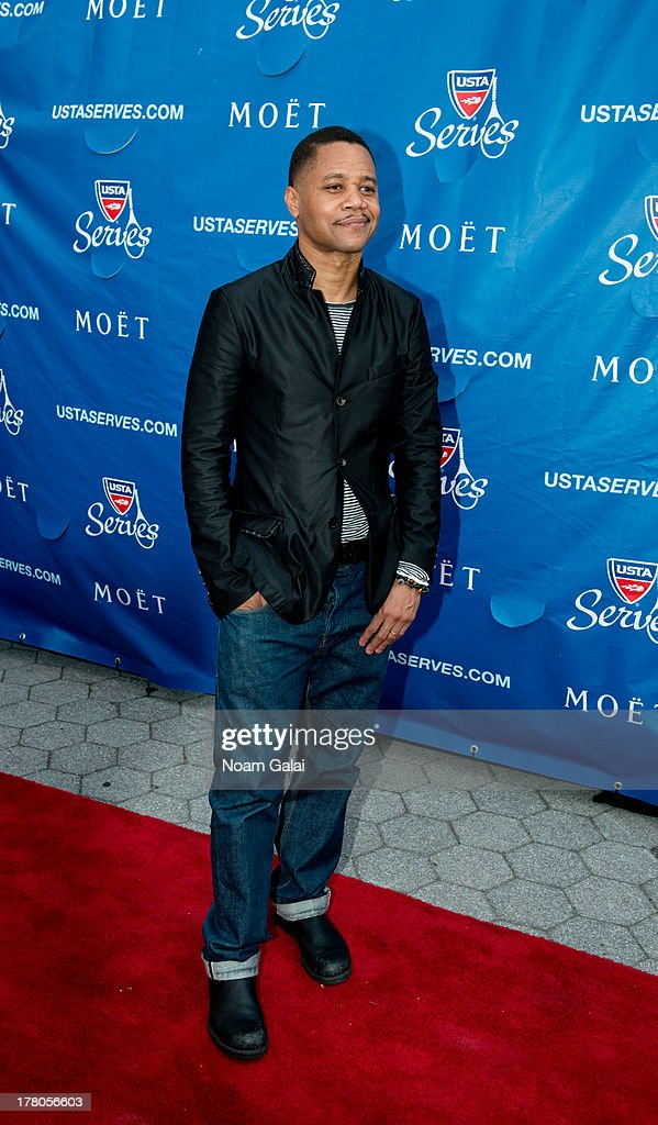 Actor Cuba Gooding Jr. attends the 13th Annual USTA Serves Opening Night Gala at USTA Billie Jean King National Tennis Center on August 26, 2013 in New York City.
