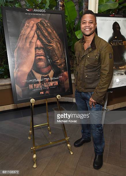 Actor Cuba Gooding Jr attends the 17th annual AFI Awards at Four Seasons Los Angeles at Beverly Hills on January 6 2017 in Los Angeles California